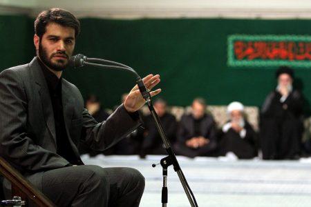 نوحه میثم مطیعی در حضور رهبر انقلاب