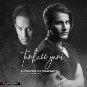 آهنگ Ahmad-Solo-Tanhaei-Yani-(Ft-Sina-Karimi)