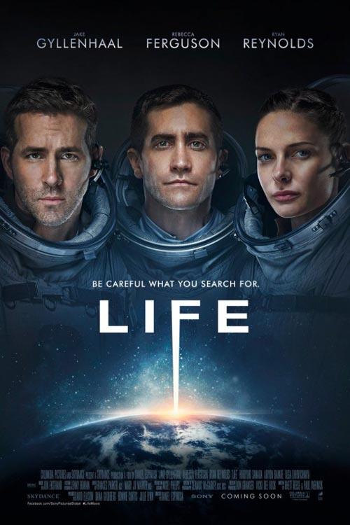 دانلود فیلم زندگی دوبله فارسی Life 2017