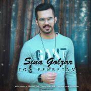 آهنگ Sina-Golzar-Too-Fekretam